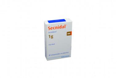 Secnidal 1 g Caja Con 2 Comprimidos Recubiertos