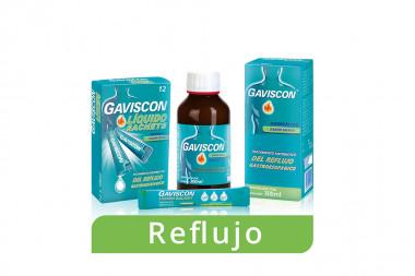 Gaviscon Suspensión Oral Caja Con Frasco Con 300 mL - Sabor Menta