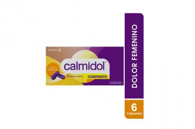 Calmidol Compuesto Caja Con 6 Cápsulas