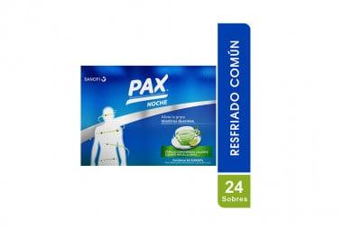Pax Noche Caja Con 24 Sobres De 6 g - Sabor A Limón