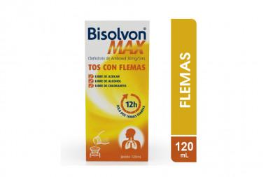Bisolvon Max Caja Con Frasco Con 120 mL