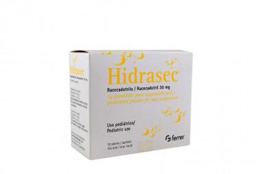 Hidrasec 30 mg Caja Con 18 Sobres