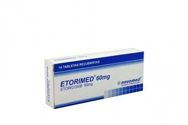 Etorimed Etoricoxib Caja Con 14 Tabletas