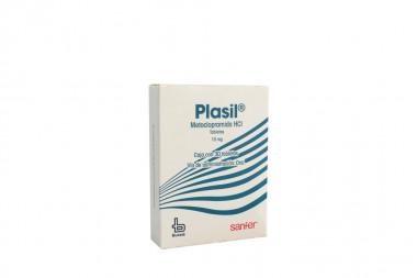 Plasil 10 mg Caja Con 30 Tabletas