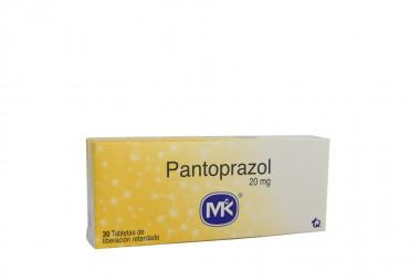 Pantoprazol 20 mg Caja Con 30 Tabletas