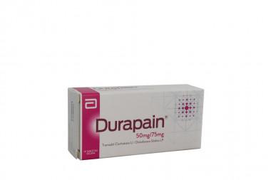 Durapain 50 / 75 mg Caja Con 10 Tabletas