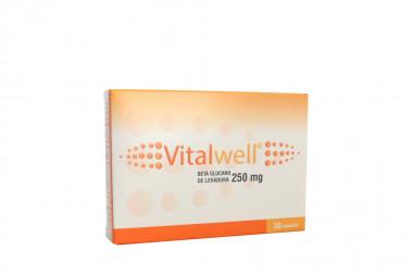 Vitalwell 250 mg Caja Con 30 Cápsulas