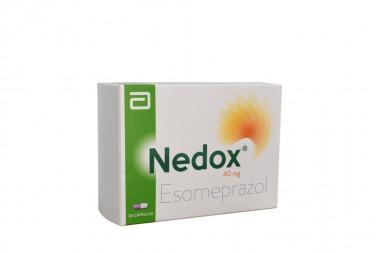 Nedox 40 mg Caja Con 28 Cápsulas