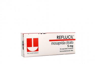 Reflucil 5 mg Caja Con 30 Comprimidos Recubiertos
