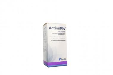 ActionFlu 500 / 50 Mcg Caja Con Frasco Con 60 Cápsulas Con Polvo Inhalar + Inalador Oral