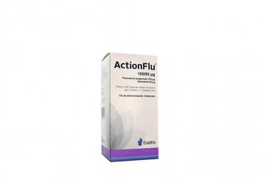 ActionFlu 100 / 50 mcg Caja Con Frasco Con 60 Cápsulas Con Polvo Inhalación + Inhalador Oral