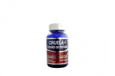 Ciruela + Yoduro de Potasio Frasco Con 30 Cápsulas