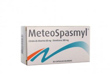 MeteoSpasmyl 60 / 300 mg Caja Con 30 Cápsulas Blandas