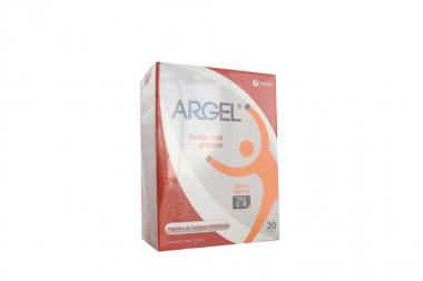 Argel Sabor Naranja Caja Con 30 Sobres Con 10 g C/U