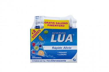 Sal De Frutas Lua Caja Con 10 Sobres Con 5 g + 2 Sobres