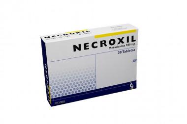 Necroxil 500 mg Caja Con 30 Tabletas