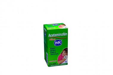 Acetaminofén Niños Caja Con Frasco x 90 mL Jarabe Sabor A Tutti Frutti