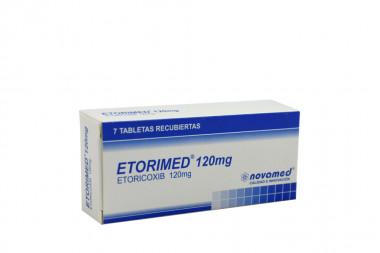 Etorimed 120 mg Caja Con 7 Tabletas Recubiertas