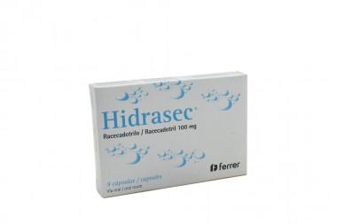 Hidrasec 100 mg Caja Con 9 Cápsulas