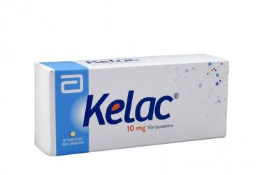 Kelac 10 mg Caja Con 30 Tabletas Recubiertas