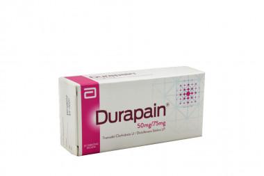 Durapain 50 / 75 mg Caja Con 20 Tabletas Bicapa