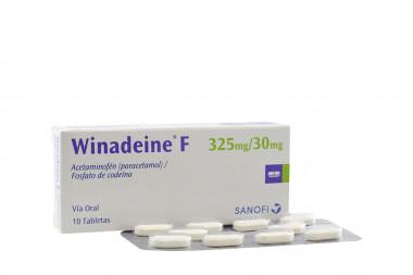 Winadeine' F 325 / 30 mg Caja Con 10 Tabletas