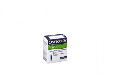 Onetouch Select Caja Con 25 Tiras Reactivas