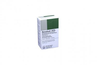Berodual HFA Solución En Aerosol 20 / 50 mcg Caja Con Frasco Para Inhalación Con 200 Dosis