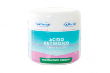 Ácido Retinoico En Crema 0.05 % Tarro Con 30 g