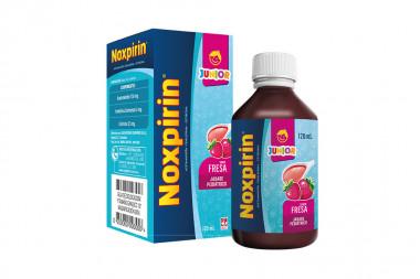 Noxpirin-F Jarabe Pediátrico Caja Con Frasco Con 120 mL - Fresa