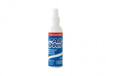 All Over Spray Con 120 mL - Antisudoral