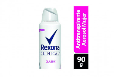 Desodorante Rexona Clinical Women Classic Aerosol Tubo Con 150 mL