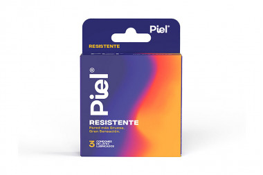 Condones Piel Resistente Caja Con 3 Unidades