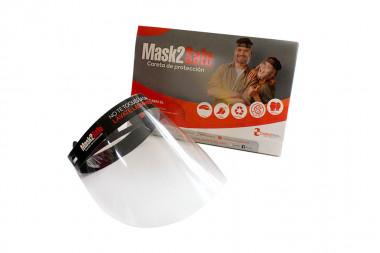 Careta De Protección Facial - Mask2 Safe Caja Con 4 Unidades
