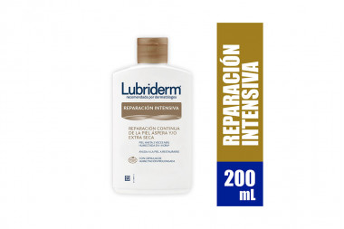 Crema Lubriderm Reparación Intensiva Frasco Con 200 mL