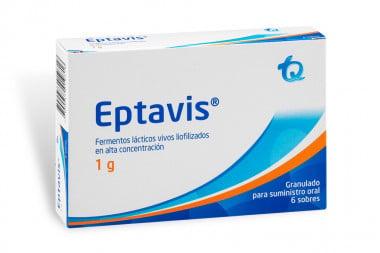 Eptavis Niños Granulados 1 g Caja Con 6 Sobres