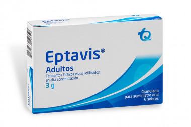 Eptavis Adultos Granulados 3 g Caja Con 6 Sobres