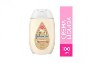 Johnson Baby Crema Líquida Frasco Con 100 mL - Avena