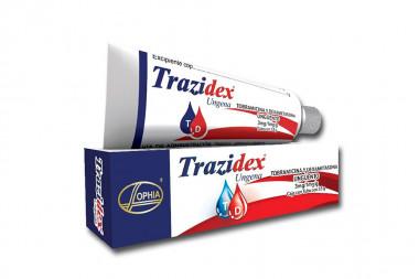 Trazidex Ungena En Ungüento 3 / 1 mg Caja Con Tubo Con 3.5 g