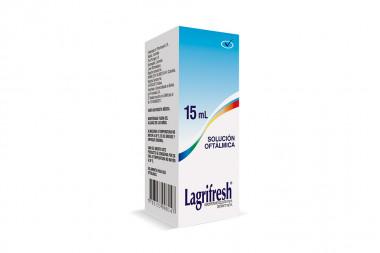 Lagrifresh Solución Oftálmica Empaque Con Caja Con Frasco Con 15 mL