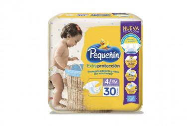 Pañales Pequeñín Extraconfort Plus Paca Con 30 Unidades - Etapa 4