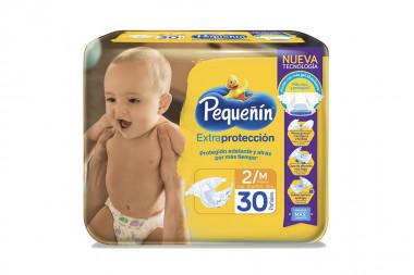 Pañales Pequeñín Extraconfort Plus Paca Con 30 Unidades - Etapa 2