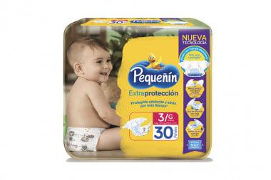 Pañales Pequeñín Extraconfort Plus Paca Con 30 Unidades - Etapa 3