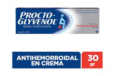 Procto-Glyvenol Crema Caja Con Tubo Con 30 g
