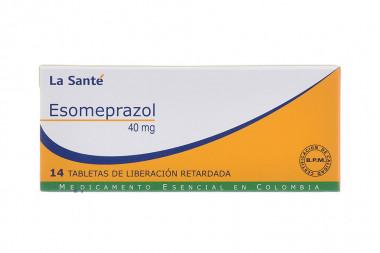 Esomeprazol 40 mg Caja Con 14 Tabletas Con Cubierta Entérica