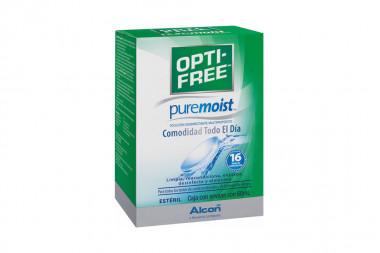 Pure Moist Caja Con Frasco Con 60 mL Solución Ocular