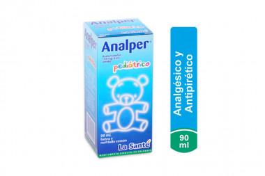 Analper Pediátrico 150 mg / 5 mL Caja Con Frasco Con 90 mL