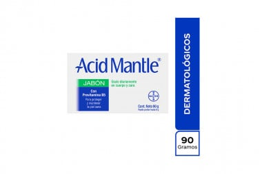 Acid-Mantle Caja Con Barra Con 90 g Jabón – Protege La Piel