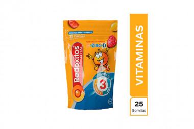 Redoxitos Total Bolsa Con 25 Gomitas Masticables Con 40 g C/U