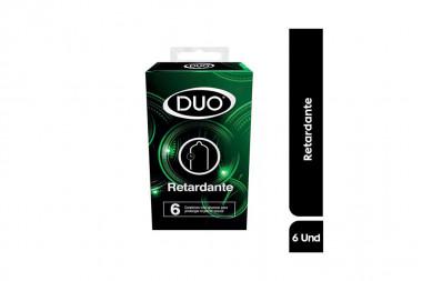 Condones Duo Retardante Caja Con 6 Unidades